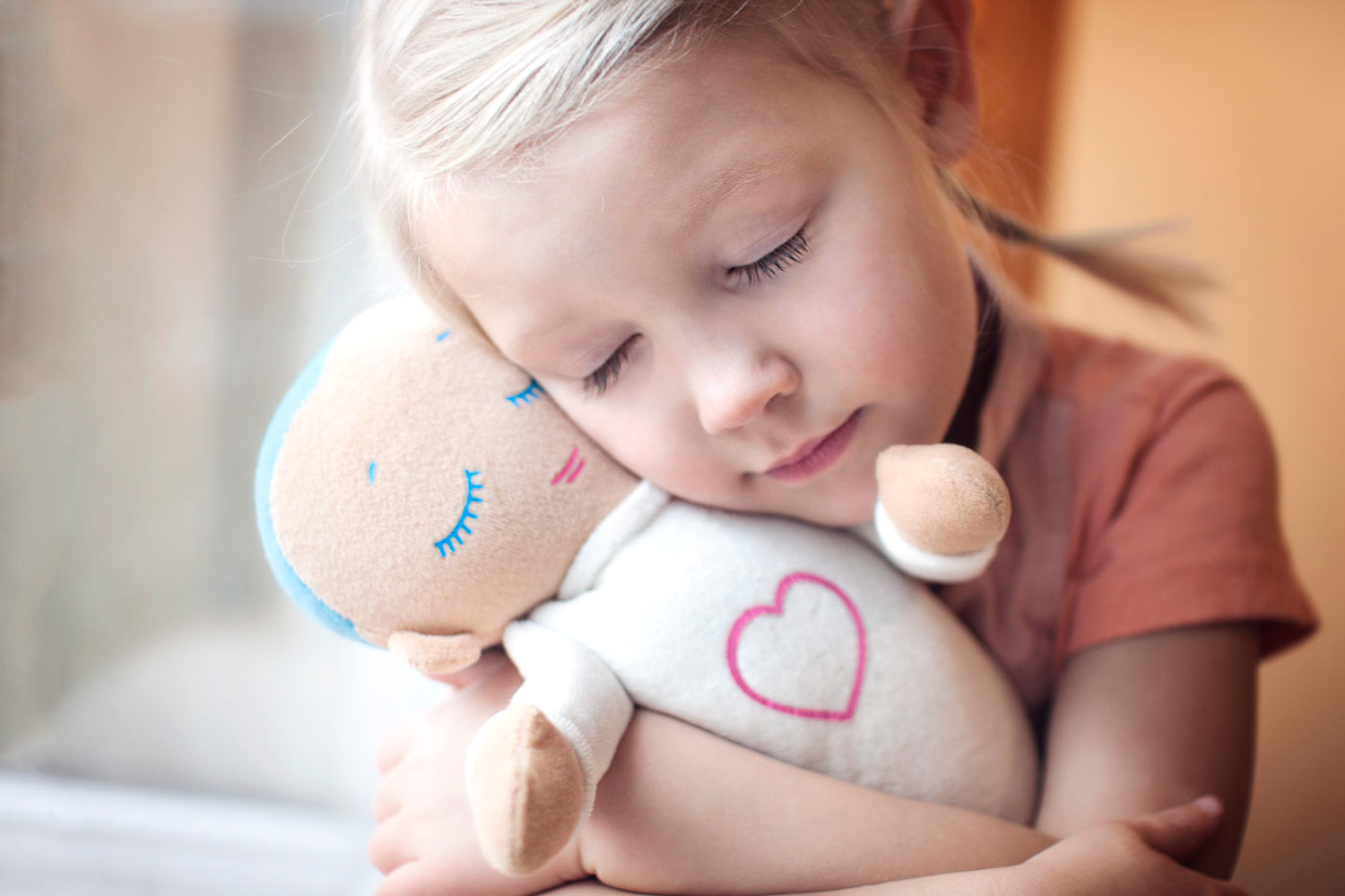 The Lulla Doll is a great option for kids who are suffering through childhood anxiety