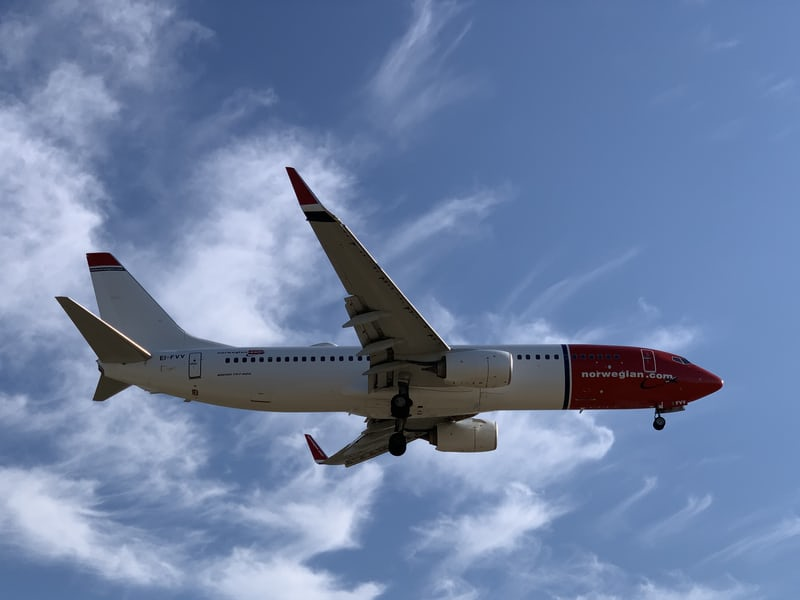 Check out European based airline, Norwegian Air's policies regarding Covid19
