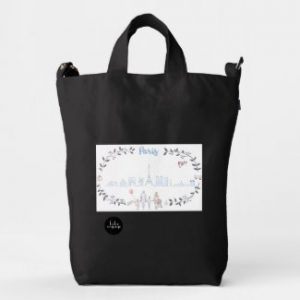Paris Tote Bag front