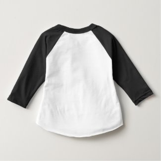 Toddler Raglan Shirt back