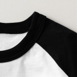 Toddler Raglan Shirt detail