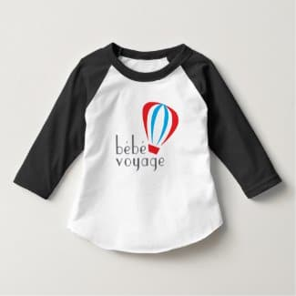 Toddler Raglan Shirt front