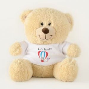 Travel Teddy Teddy Bear Logo front