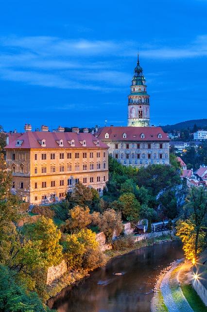 Cesky Krumlov is a must visit UNESCO World Heritage site in Autumn