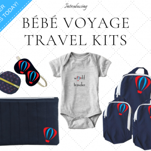 Baby Travel Kit with everything you need for a good trip