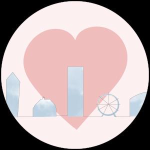 cartoon heart bebevoyage