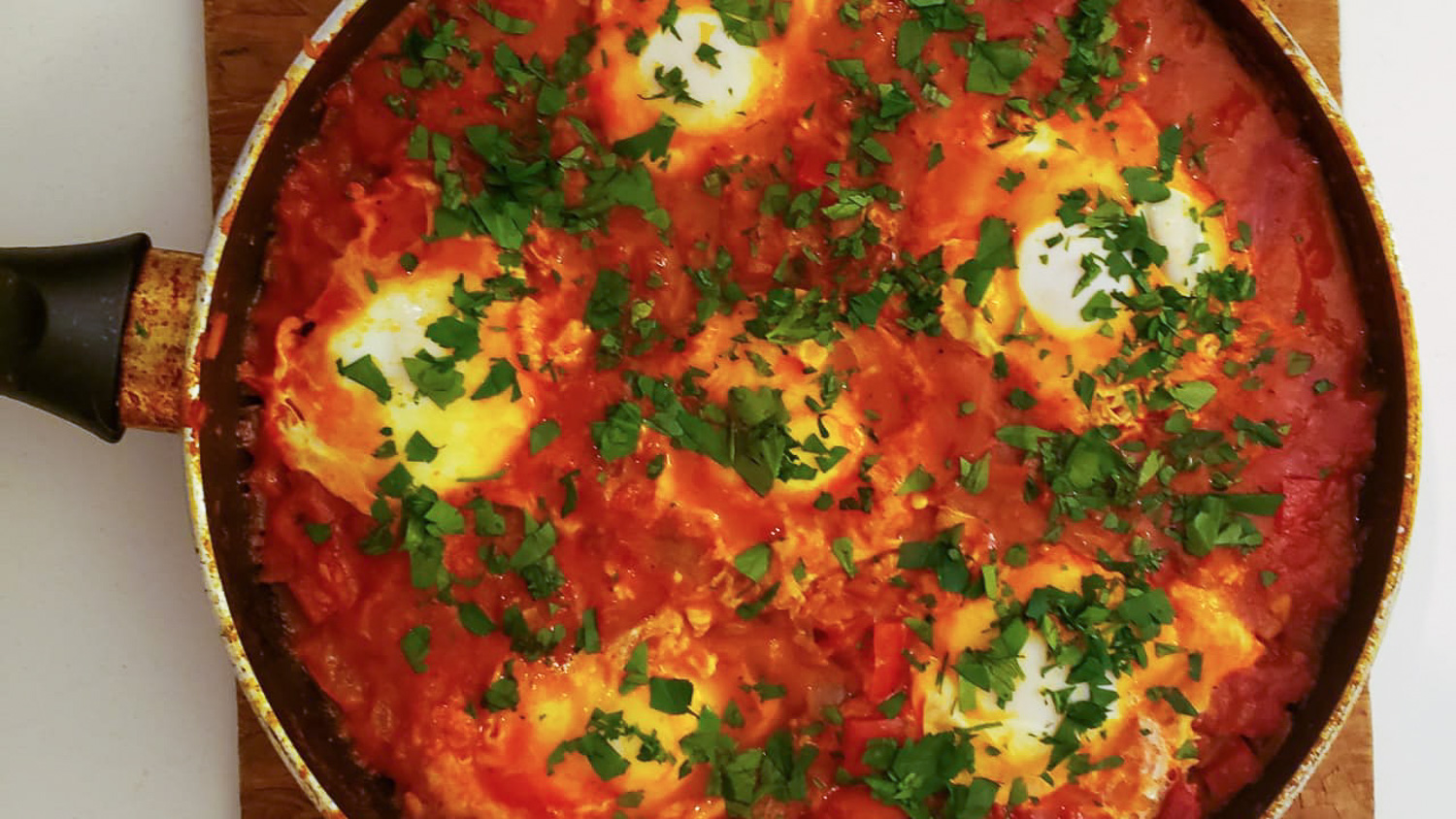 shakshuka recipe from Tunisia