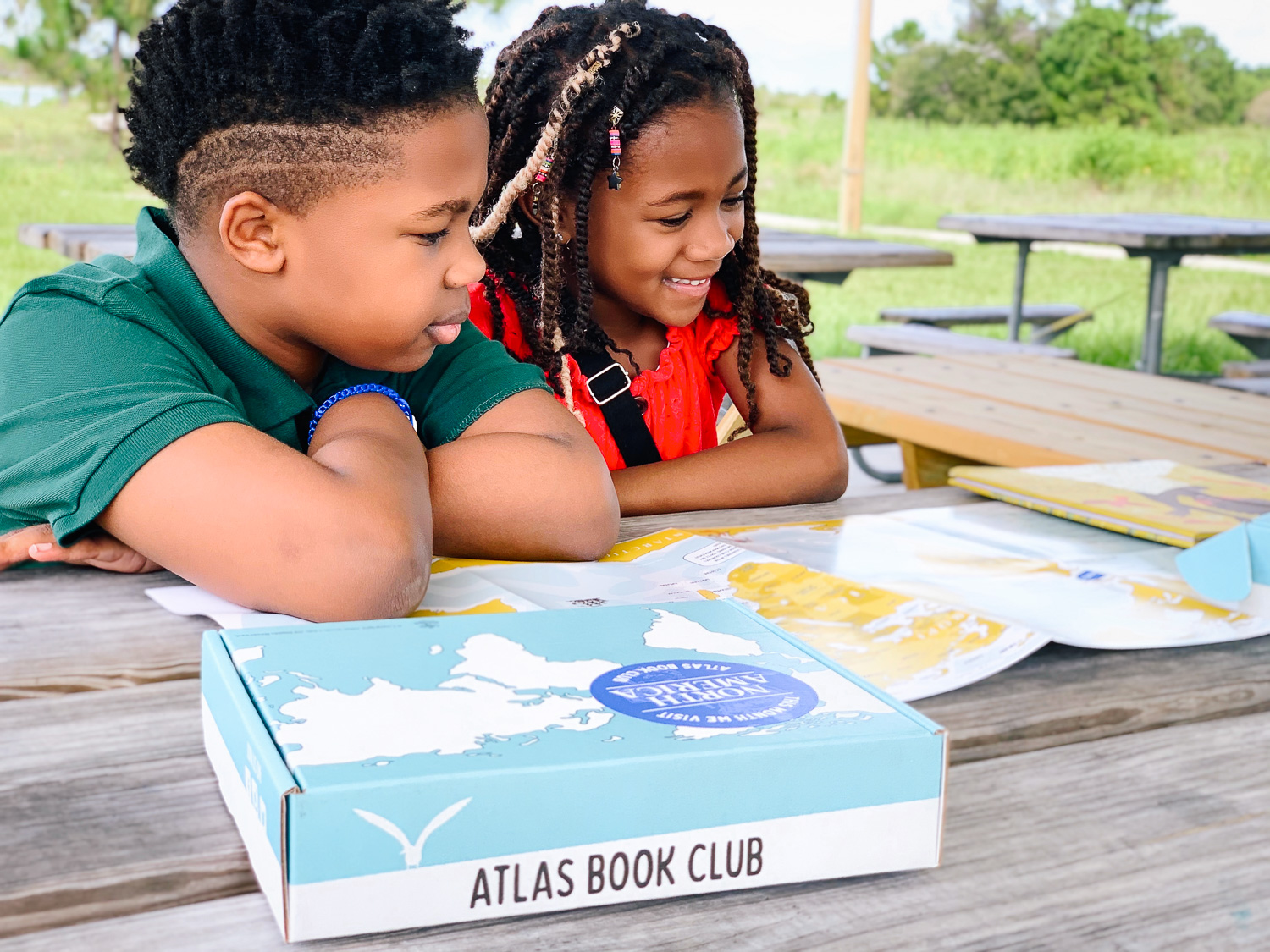Learn about the world and other cultures through Atlas Book Club and their diverse children's books.
