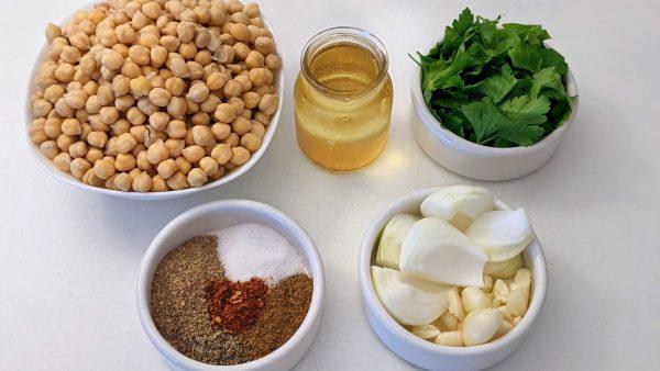 ingredients needed for falafel