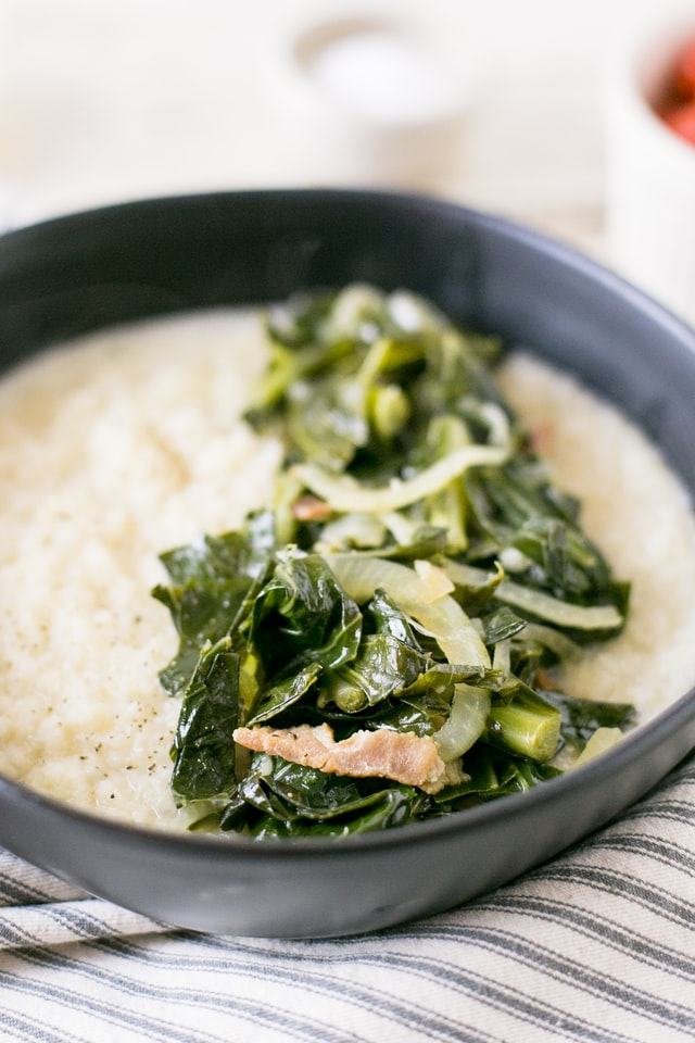 Grits are a must try food while traveling!