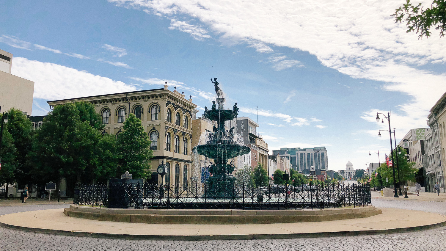 Court Square Fountain is a great civil rights site to visit with your family.
