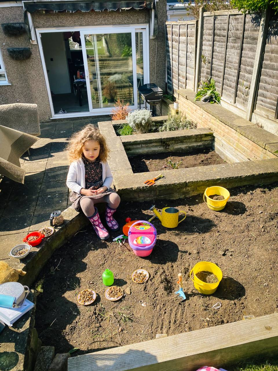 Gardening is one of the best outdoor activities to do with kids!
