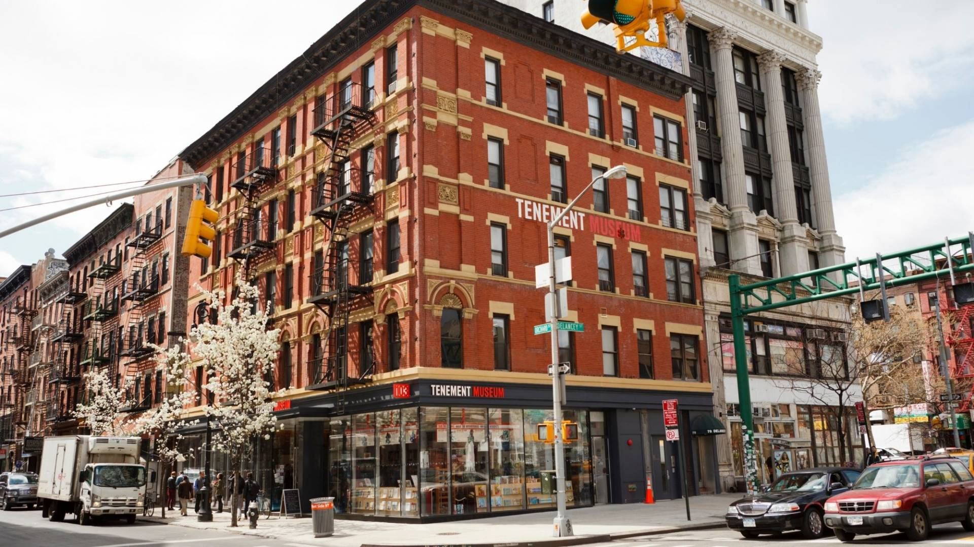 The Tenement Museum is a great place to start exploring New York City through a social justice lens and learn about the stories of the immigrants when they first arrived.