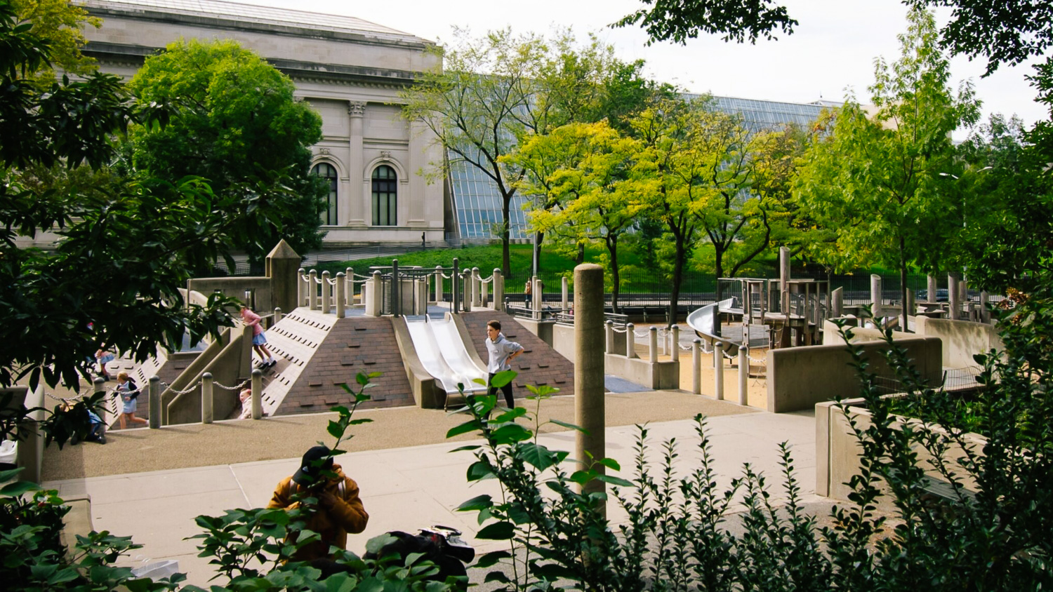 Ancient playground is one of the best Manhattan playgrounds!