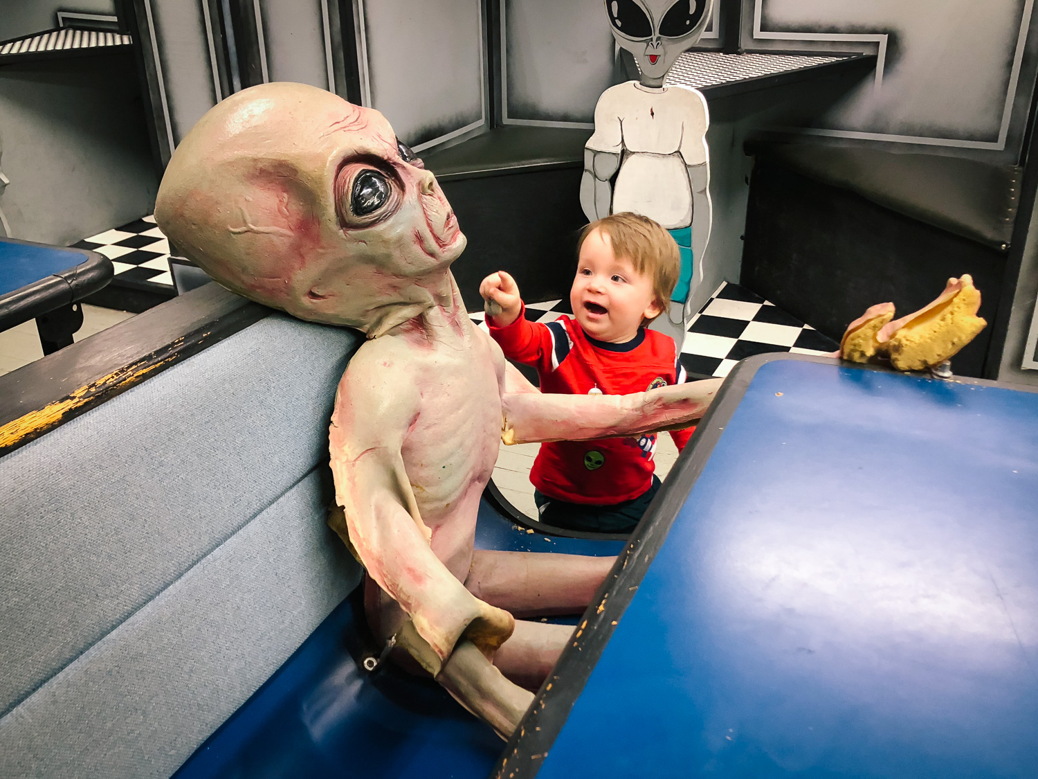 Be sure to stop in Roswell for all your budding future astronauts and alien lovers!