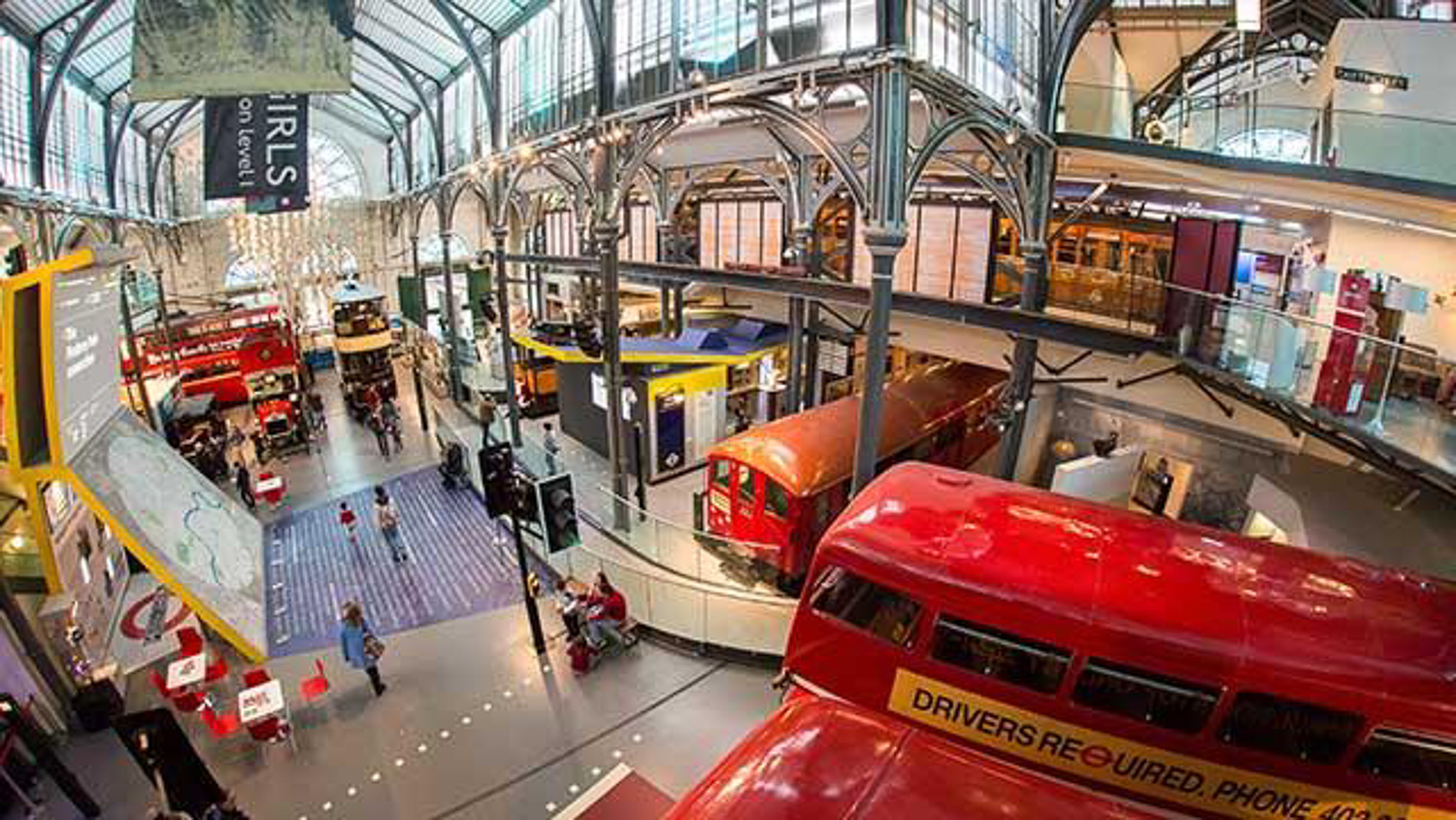 The London Transport Museum is fun for the whole family and one of the best London museums to visit with kids