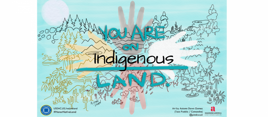 How to acknowledge Indigenous land