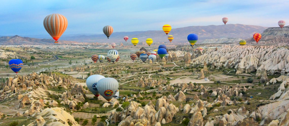 Cappadocia is Unesco World Heritage site that has to be seen to be believed