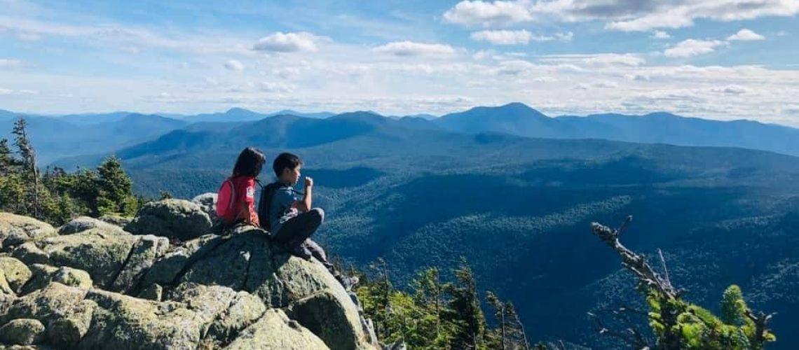 Ray Yang family hike White Mountains