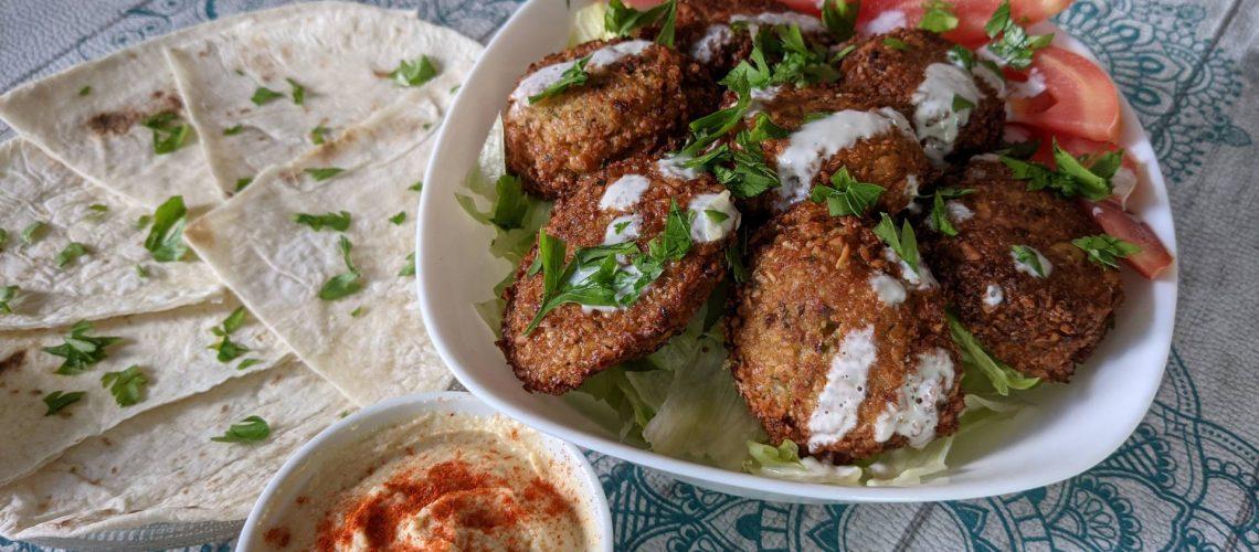 Delicious falafel recipe