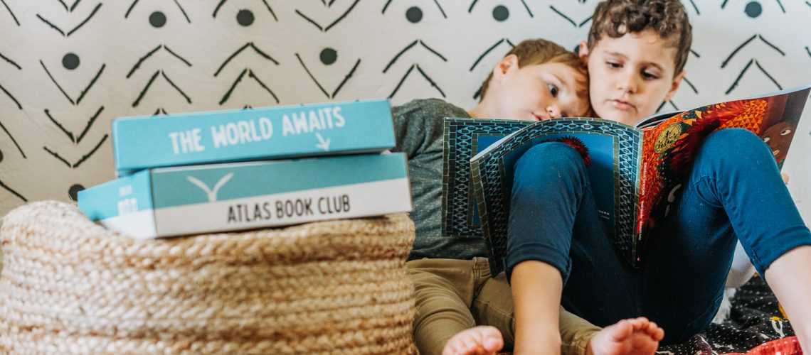 Atlas Book Club is ships diverse children's books to your home each month!