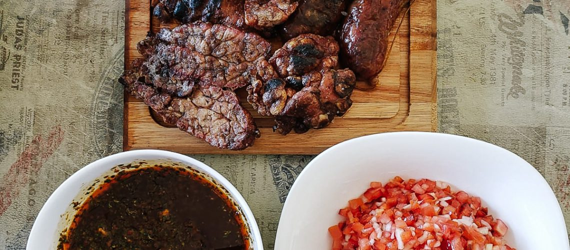 Great asado sides and salsas from the Bébé Voyage around the world series!
