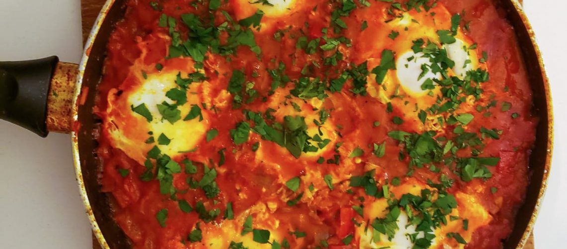 shakshuka recipe from Tunisia